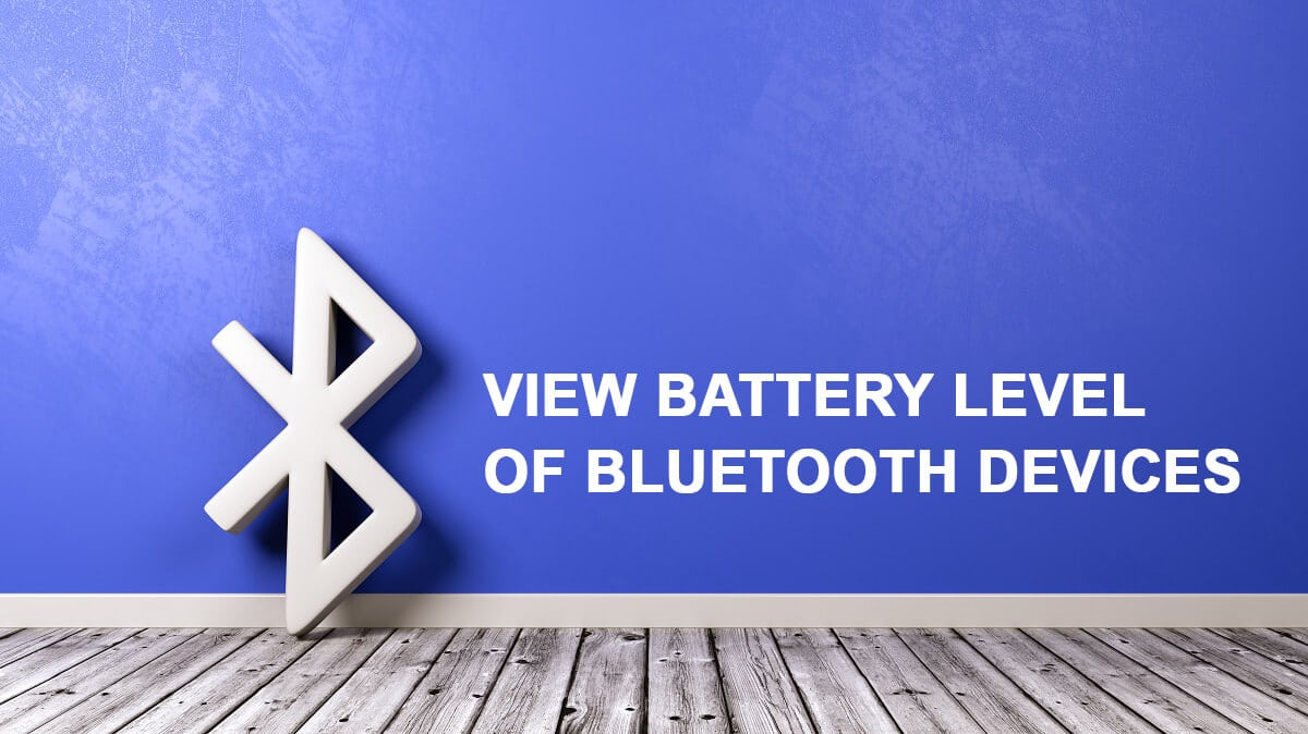 How to View Bluetooth Devices Battery Level on Android